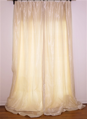 Haviland with Silk Organza Overlay